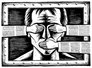 Censorship. Image by IsaacMao via Flickr