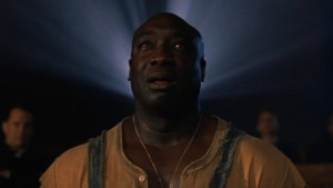 Michael Clarke Duncan in The Green Mile. Via Alienation Mentale