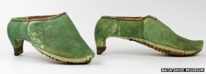 17th Century Persian Men's Shoe. Via BBC