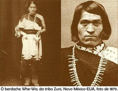 We-Wah, a Zuni Berdache, from New Mexico, who was born biologically male but lived as a Two Spirit woman. via Chicago Whispers