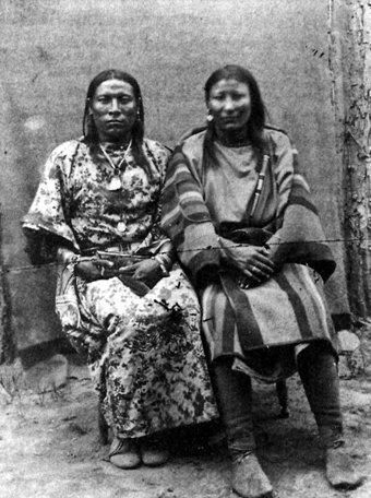 LA GRANDE FOI DES INDIENS D'AMÉRIQUE - Par Jean-Claude St-Louis.  Crow-two-spirits-1928
