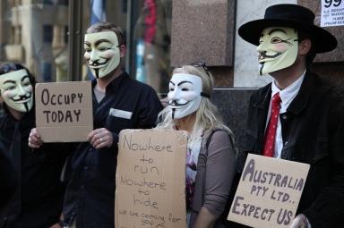 Occupy Sydney, Oct 2011. Photo by Kate Ausburn via Flickr.