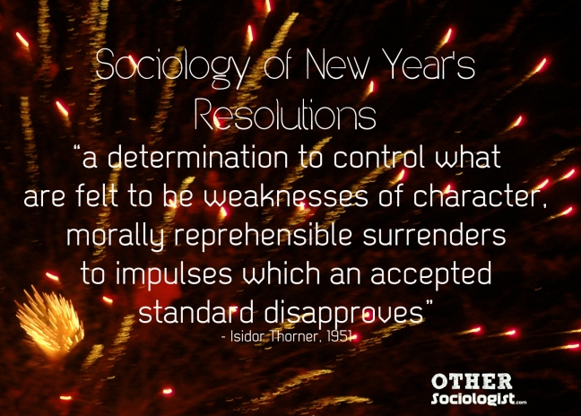 Sociology of New Year's. OtherSociologist.com