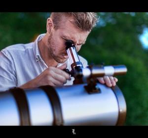 Photo: Astronomer by Tobias Lindman, via Flickr, CC 2.0