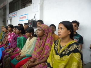 Photo Dhaka garment workers. By Tareq Salahuddin via Flickr CC 2.0
