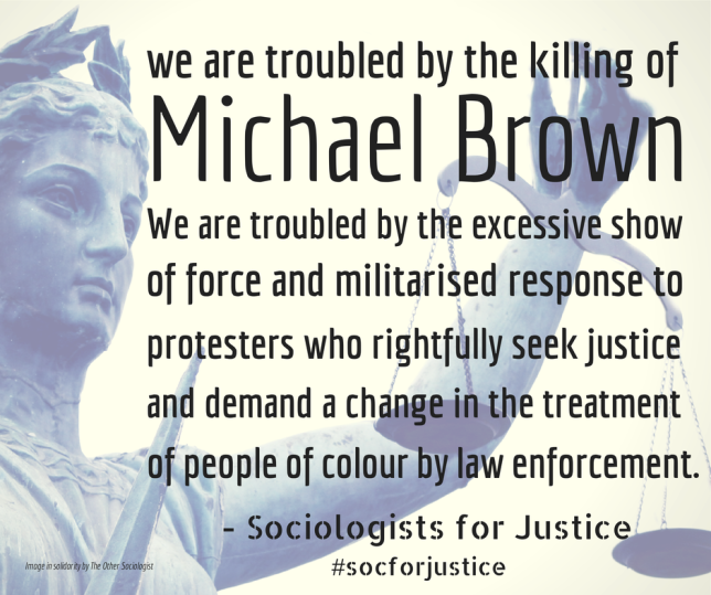 Social Justice for Michael Brown and Ferguson