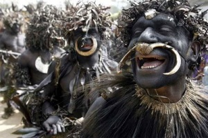 Sambia men. Via: Folklore