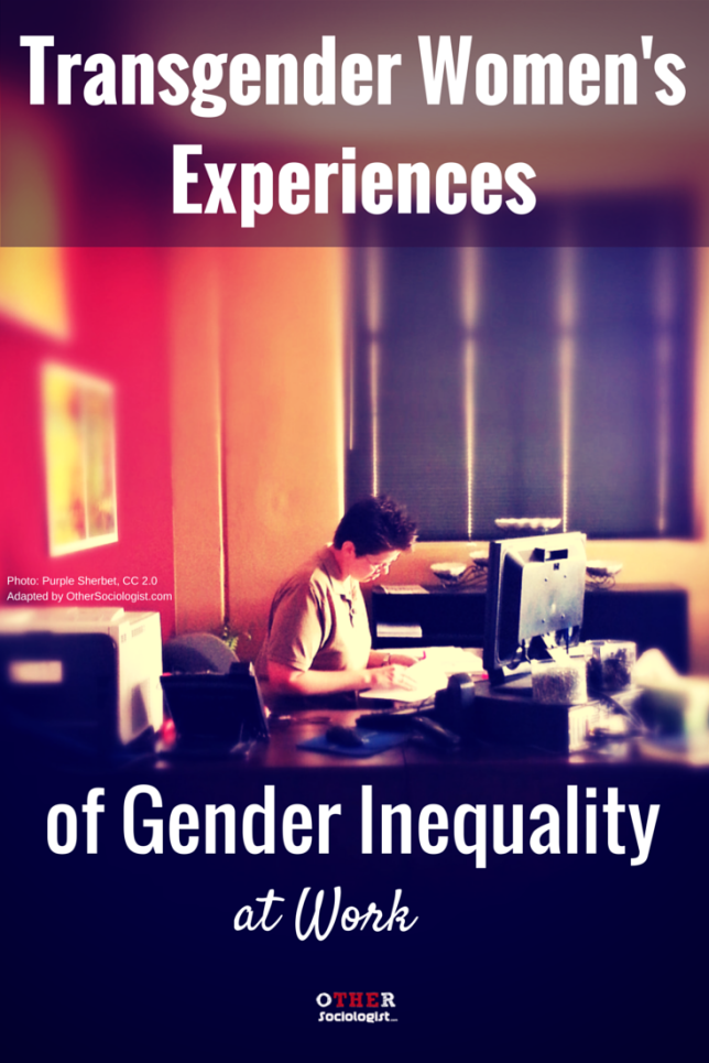 Transgender Women's Experiences of Gender Inequality