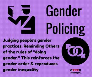 Gender policing