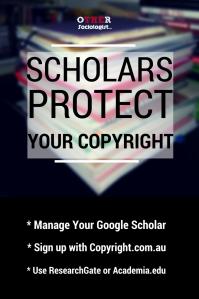 文本图形。答:学者保护你的版权。在底部:管理你的谷歌学者。注册版权。com。au。使用ResearchGate或Academia.edu