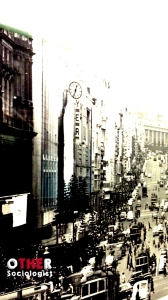 Melbourne in the mid-20th Century. Photograph taken at the Melbourne Museum, by Zuleyka Zevallos