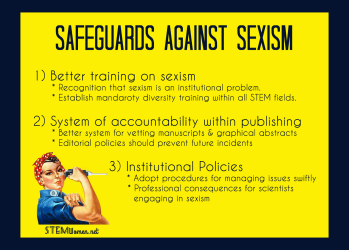 Safeguards against sexism