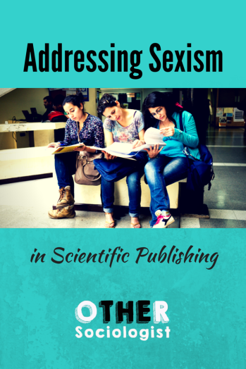 Sexism in Scientific Publishing