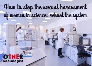 科学界如何制止女性性骚扰