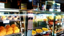Croissants, tarts and cakes at Dobbinsons Bakery Cafe