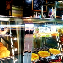 Croissants, tarts and cakes at Dobbinsons Bakery Cafe