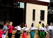 Dancers at the Bosnia and Herzegovina Embassy, Canberra, for Windows to the World Festival