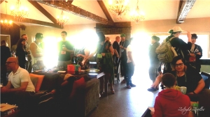Kiwi Foo central lounge area