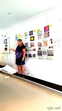 Jane Strange discussing co-design