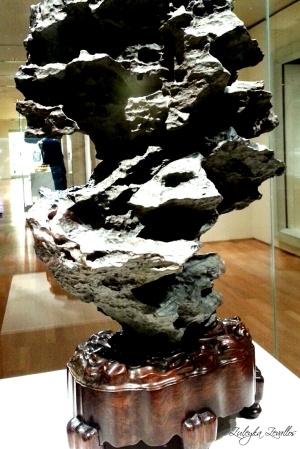 Scholar's Rock. Ancient Chinese art. Photo: Zuleyka Zevallos