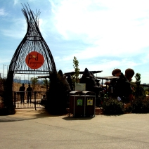Entrance to the Pod Playground National Arboretum Canberra