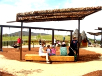 Family activities at the Pod Playground, National Arboretum Canberra
