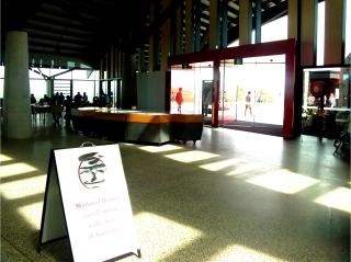 Entrance of Village Centre, National Arboretum Canberra