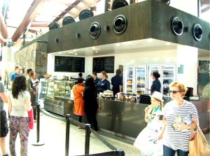 Sprout Cafe at the Village Centre, National Arboretum Canberra
