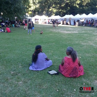 Survival Day - women sitting together