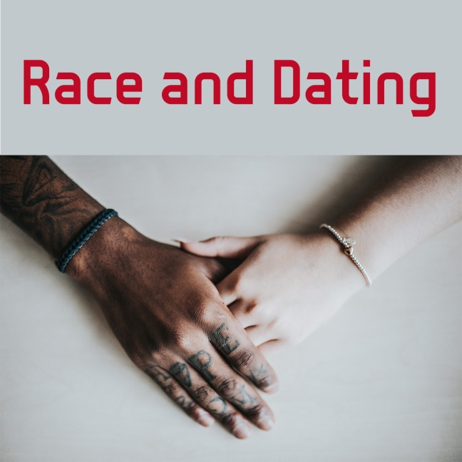 Race and dating - interracial couple holding hands