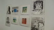 Safdar Ahmed and Refugee Art Project. Photos: Zuleyka Zevallos