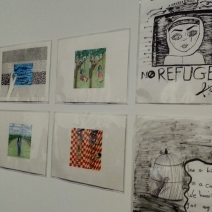 Safdar Ahmed and Refugee Art Project. Photos: Zuleyka Zevallos