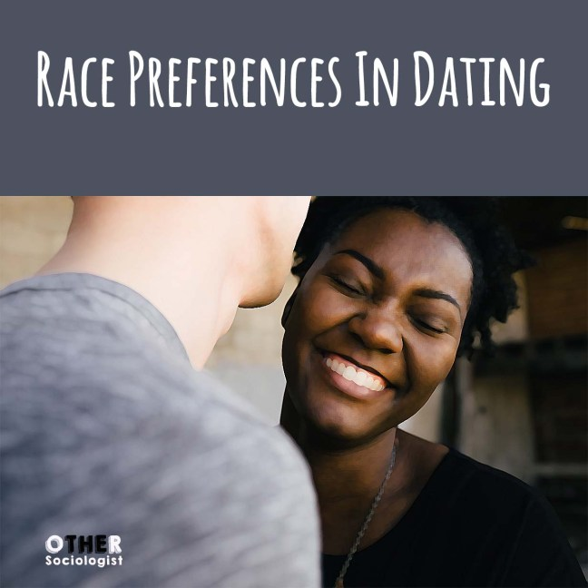 racial preference dating racist 'no blacks' is not a sexual preference it's racism sixty-four percent of the men said it is acceptable to state a racial preference on an online dating.