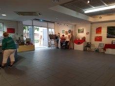 乡村色彩纪念肖恩·隆尔根土著艺术展(2)
