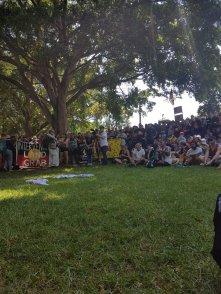 Invasion Day Sydney crowd