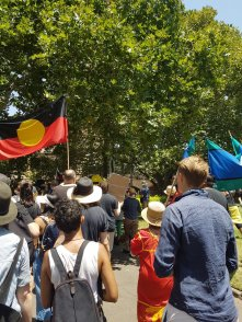 Invasion Day - Aboriginal flag