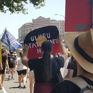 Invasion Day - Uluru Statement now