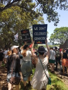 Invasion Day - no pride in genocide. We don't celebrate genocide