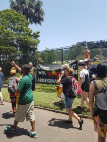 入侵日-一直以来,永远是原住民的土地
