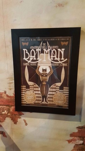 Gotham Cafe - The Amazing Well Equipped Batman