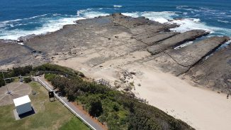 Norah Head Lighthouse - aerial view of grounds