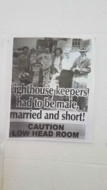 Norah Head Lighthouse - lighthouse keeper historical advertisement