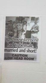 Norah Head Lighthouse - lighthouse keeper historical advertisement