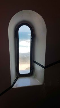 Norah Head Lighthouse - window view