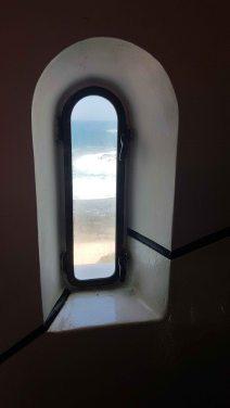 Norah Head Lighthouse - window view