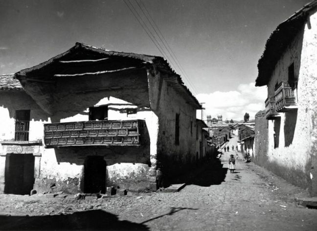 Cusco streets in the 190ss